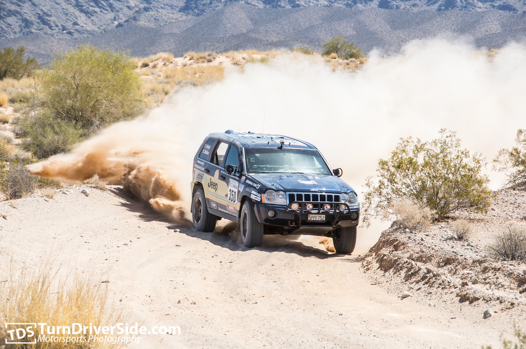Darren Skilton and Ole Holter at Desert Storm Rally 2014