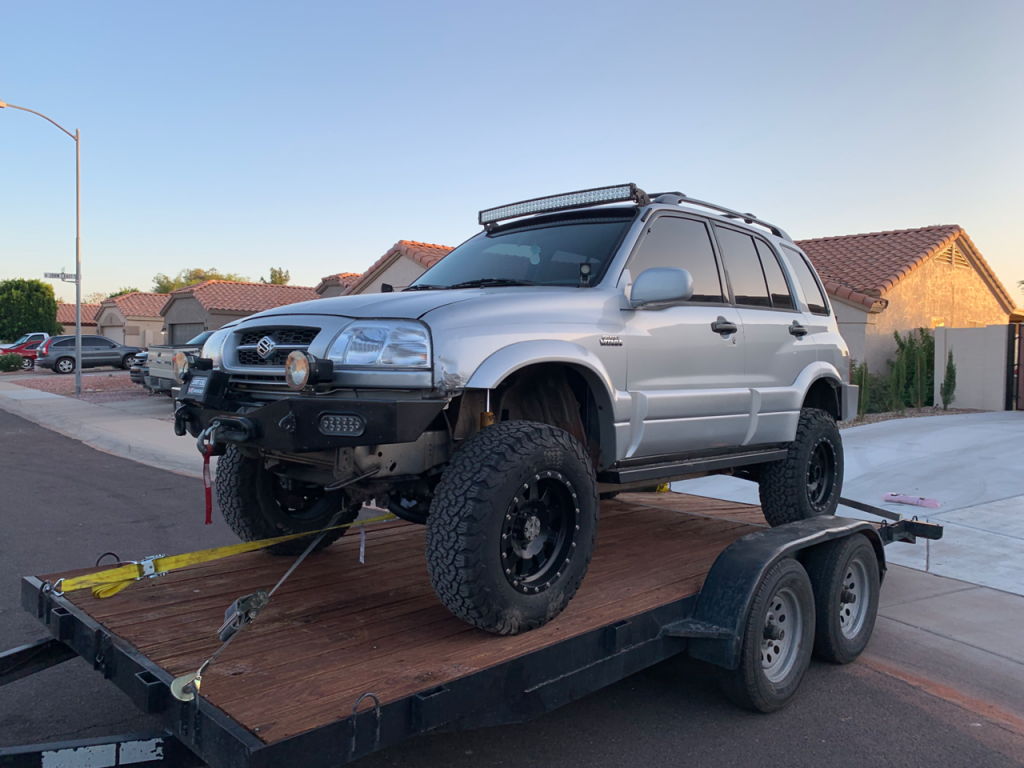 Altered Ego 4.5 Inch Grand Vitara Lift Kit 18 X2
