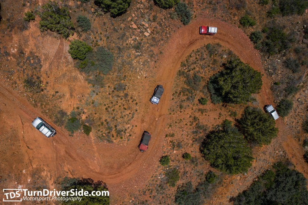 Zuks of Arizona 2019 Zukapalooza Sedona Bill Gray Loop Greasy Spoon Powerline OHV Trail from air dji maveric 2 pro DJI 0758 X2