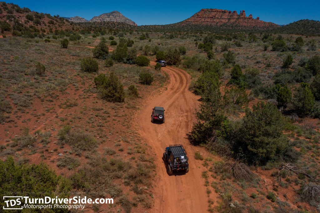 Zuks of Arizona 2019 Zukapalooza Sedona Bill Gray Loop Greasy Spoon Powerline OHV Trail from air dji maveric 2 pro DJI 0833 X2
