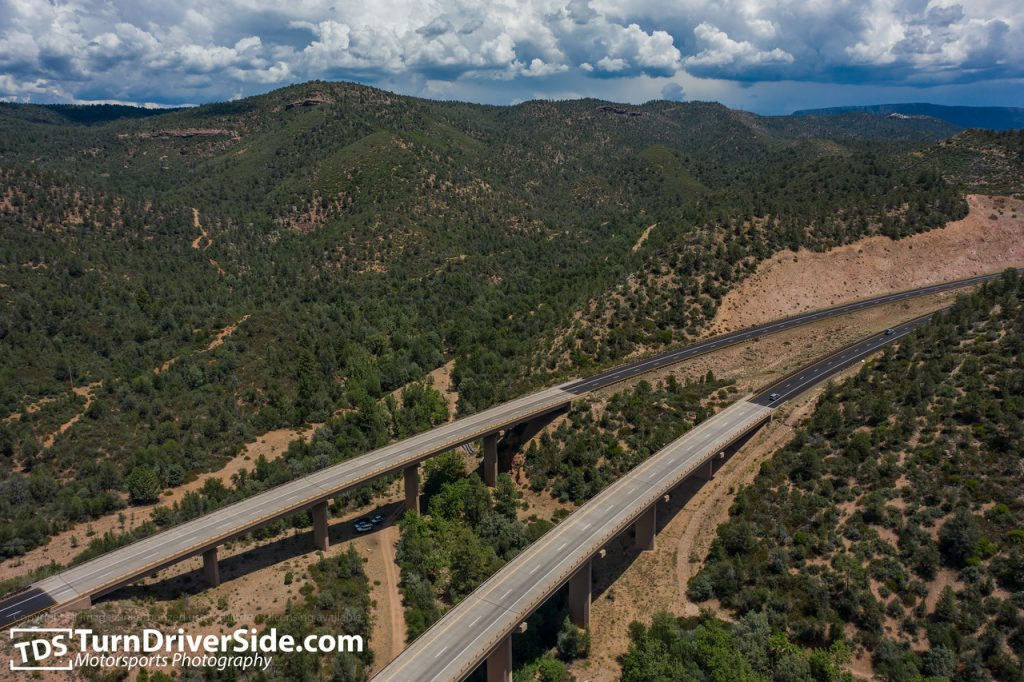 Preacher Canyon overpass at Highway 260