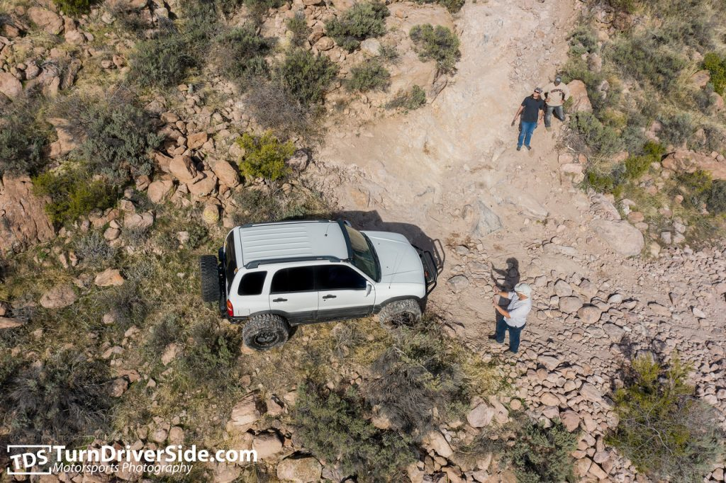 Switchbacks on the Hackberry Creek Trail