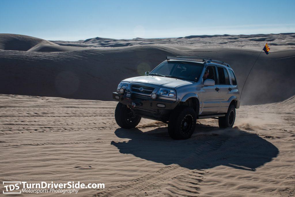 glamis sand dunes suzuki grand vitara 7