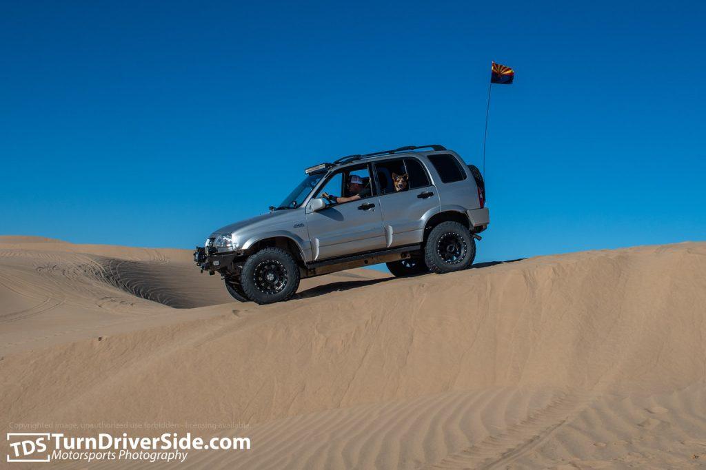 glamis sand dunes suzuki grand vitara 8